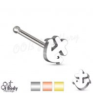 20GA Anchor Top 316L Surgical Steel Nose Stud