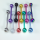 Titanium Colour Plated 316L Steel Tongue Barbell