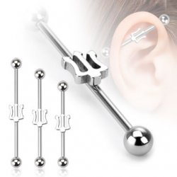 Trident Industrial Barbell 316L Steel In Mixed Sizes