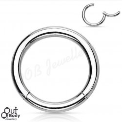 High Quality Precision 316L Surgical Steel Hinged Segment Ring