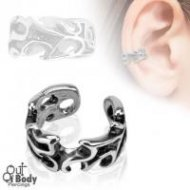 Cartilage/ Helix Ear Cuff Non Piercing W/ Leaves Design