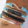 Multi Layer Blue BF, Infinity & Quote Wristband