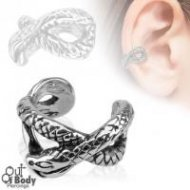 Cartilage/ Helix Ear Cuff Non Piercing W/ Snake Design