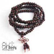 Tibetan Mala 216 Prayer Beads Bracelet / Necklace