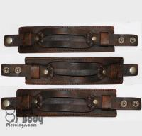 Brown Distressed Vintage Leather Wristband