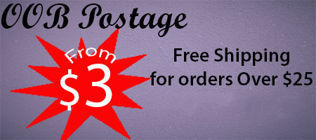 Postage from $3AUD - Postage free over $25AUD
